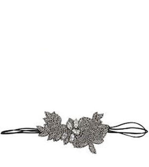 Gisselle Stretch Headband (Silver)