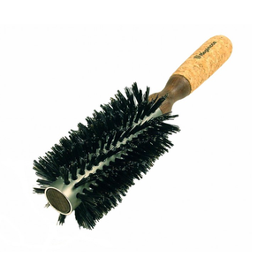 Hot Thermo Cork Bristles Round Brush