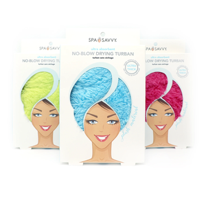 Ultra Absorbent No Blow Drying Turban