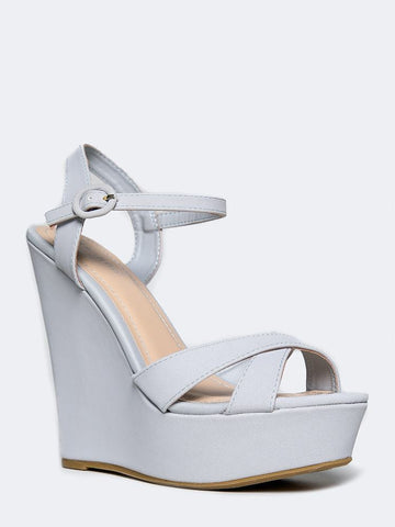 Bamboo Eliza-25 - Light Gray Nubuck