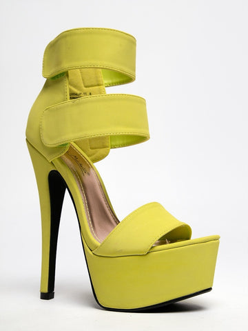 Anne Michelle Turnup-11 - Lime Nubuck