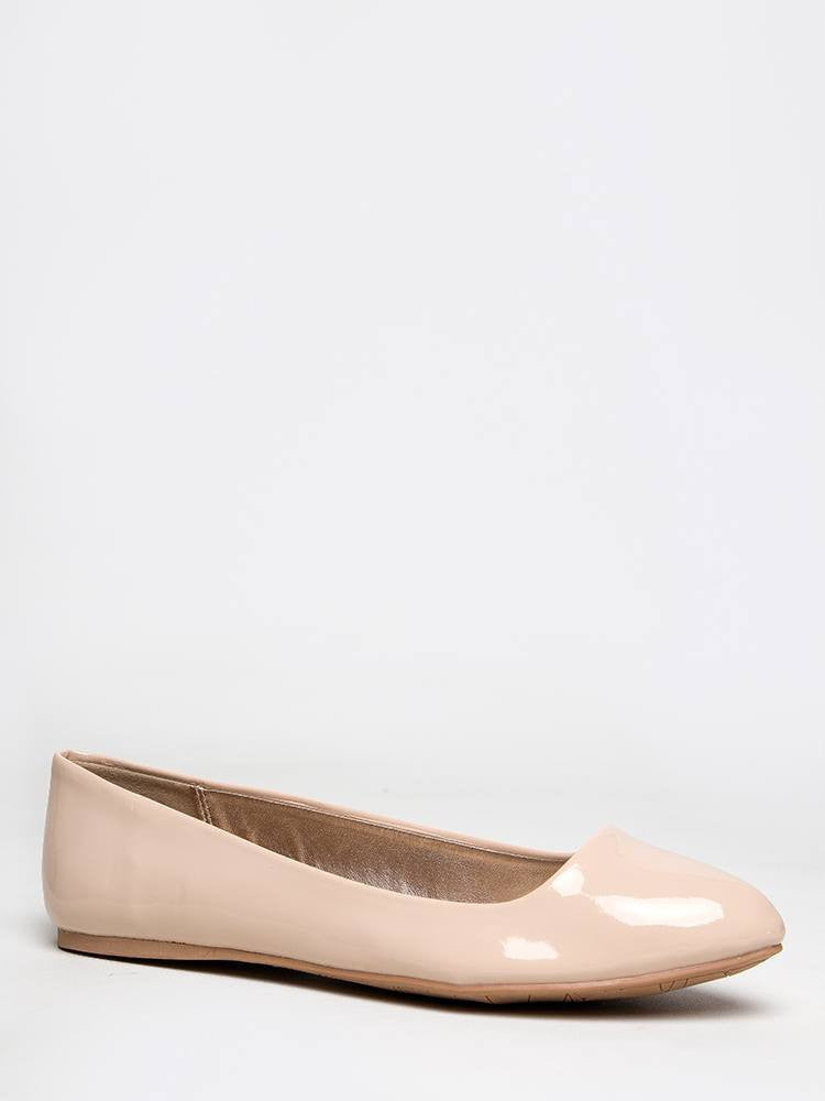 Delura Warby - Nude Patent PU