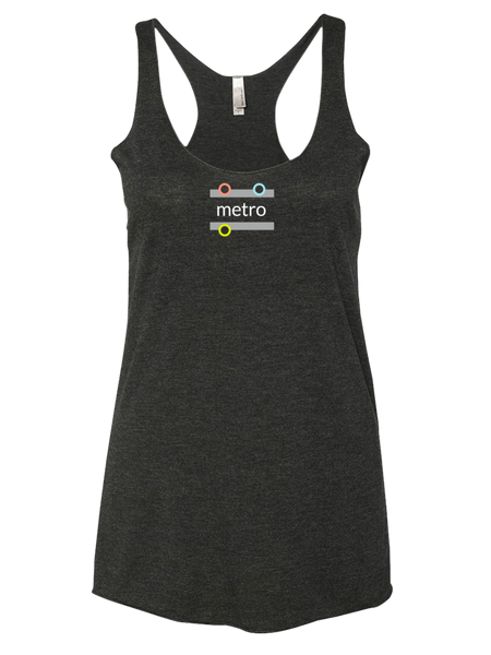 Object Names: On Next Level Brand Ladies' Triblend Tank