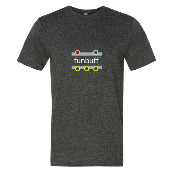 """funbuff"" Cotton/Poly Short Sleeve T-shirt"