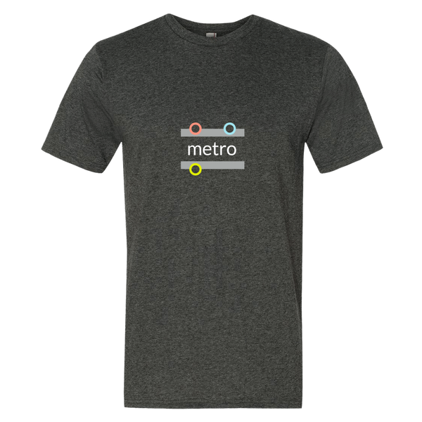 """metro"" Cotton/Poly Short Sleeve T-shirt"