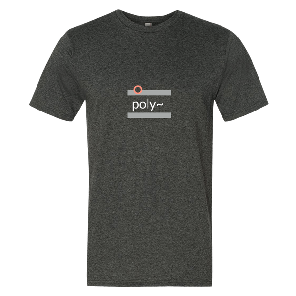 """poly~"" Cotton/Poly Short Sleeve T-shirt"