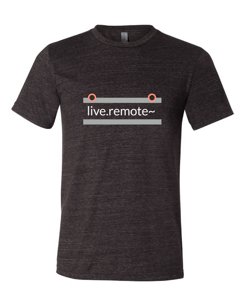"""live.remote~"" Triblend Short Sleeve T-Shirt"