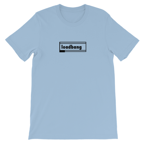 "Classic: ""loadbang"" Unisex Cotton Short Sleeve T-shirt"