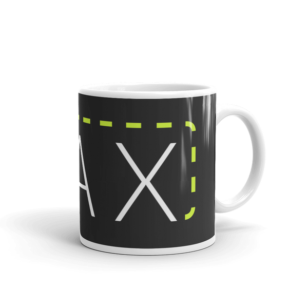 """MAX"" with Patch Cord: On 11oz Mug"