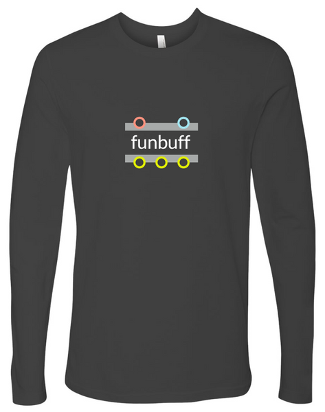 """funbuff"" Cotton, Long-Sleeve T-shirt"