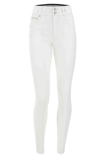 N.O.W SKINNY FAUX LEATHER WHITE
