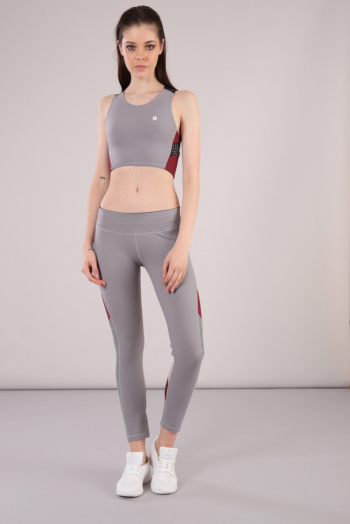 MII GREY SPORTS BRA