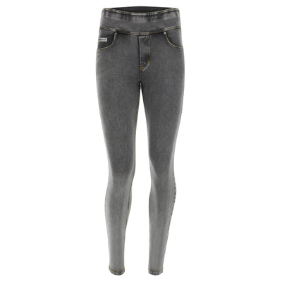 N.O.W JEGGING 5 POCKET GREY DENIM