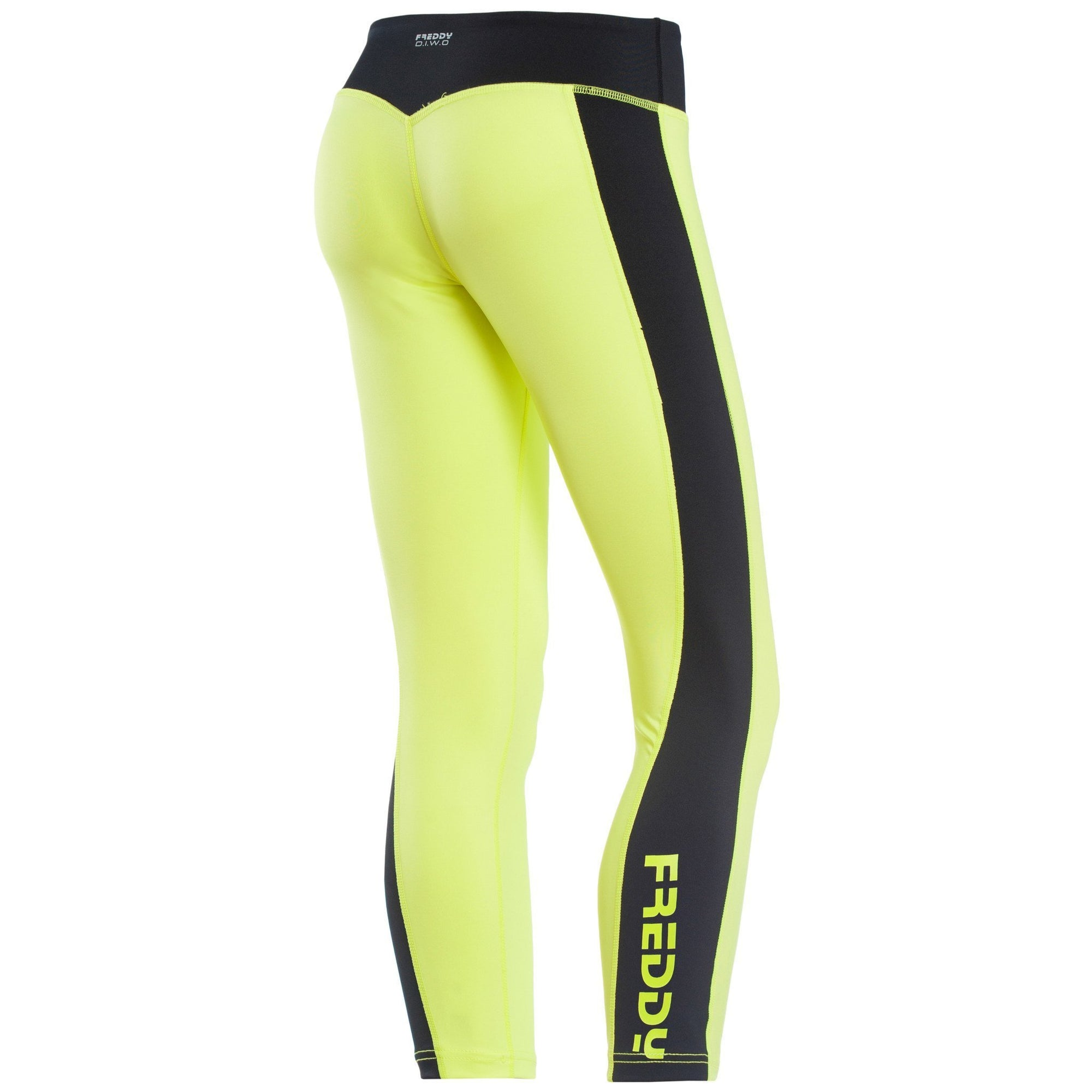 SUPERFIT NEON YELLOW FREDDY SIDE LOGO