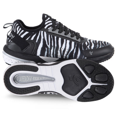 FITNESS SHOE ZEBRA PATTERN
