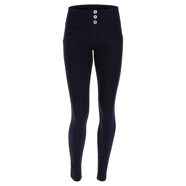 REGULAR HIGH WAIST  NAVY WITH 3 BUTTONS