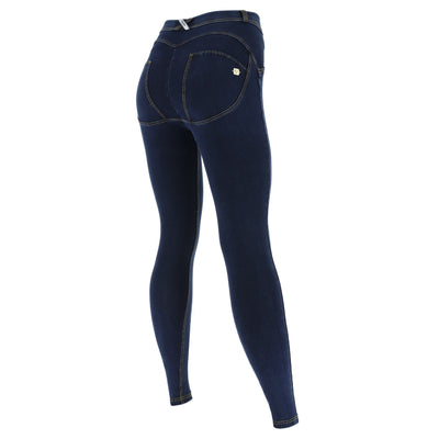 CURVY DARK DENIM FREDDY JEANS