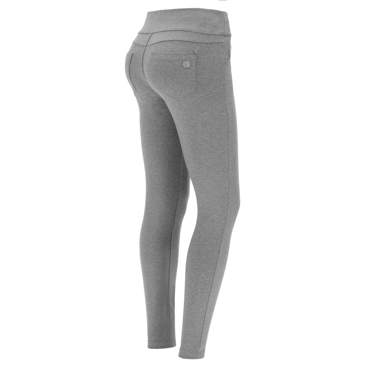 N.O.W JEGGING 5 POCKET MELANGE GREY