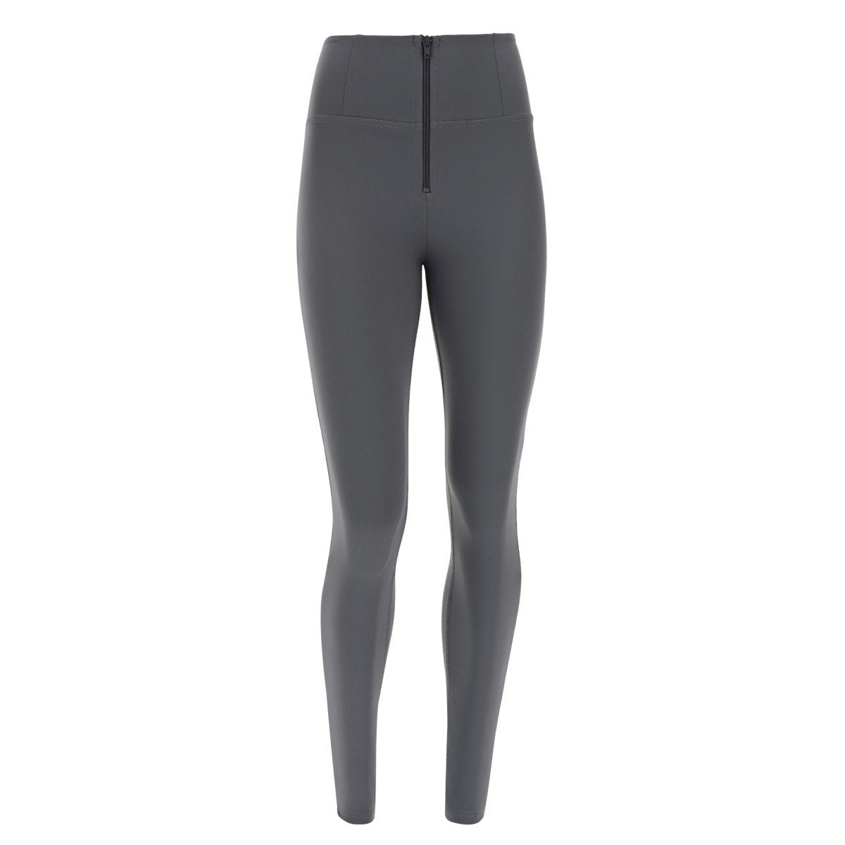 SKINNY GREY D.I.W.O.® PRO BEAUTY EFFECT HIGH WAIST SELF TONE ZIP