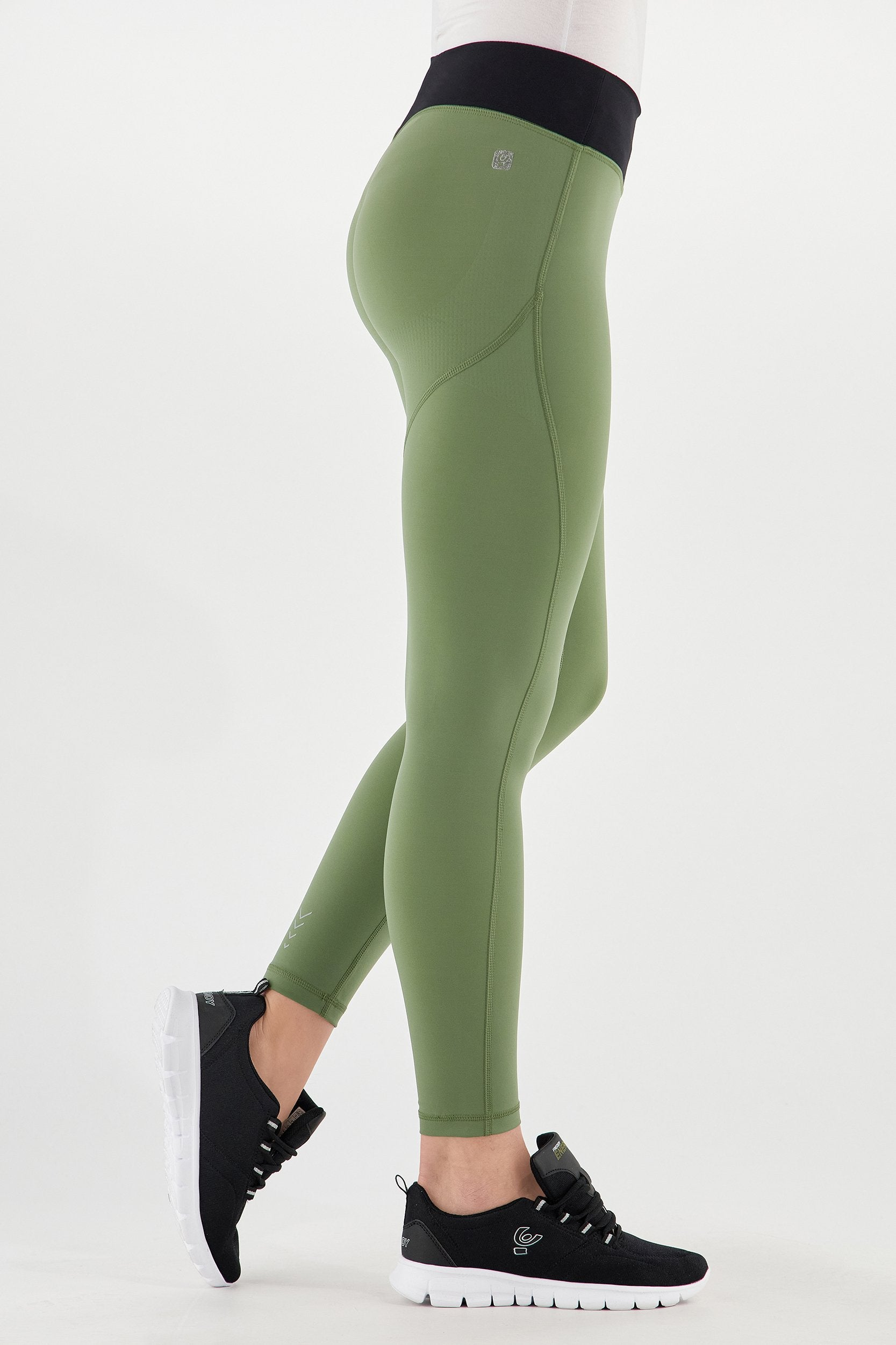 ANKLE LEG ARMY GREEN FITNESS LEGGINGS