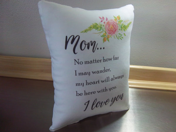 mom gift pillow