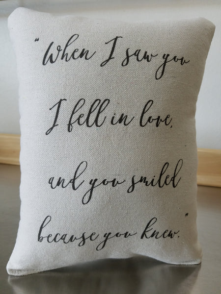 anniversary gift pillow