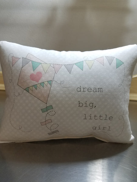 Kite nursery pillow