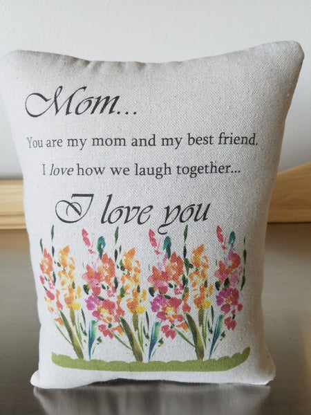 mom gift throw pillow