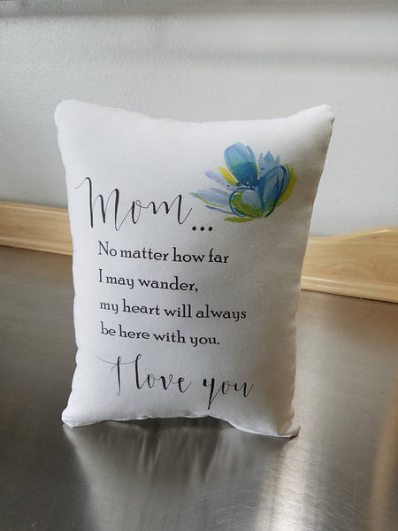 Mom pillow, mama birthday, quote cushion, mother gift - Sweet Meadow Designs