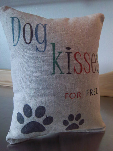 Gift for pet parent, dog pillow, doggy decor cushion - Sweet Meadow Designs