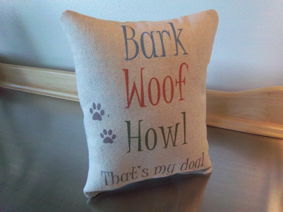Pet pillow gift for dog mom dog dad gift ideas cotton throw pillow pet home decor