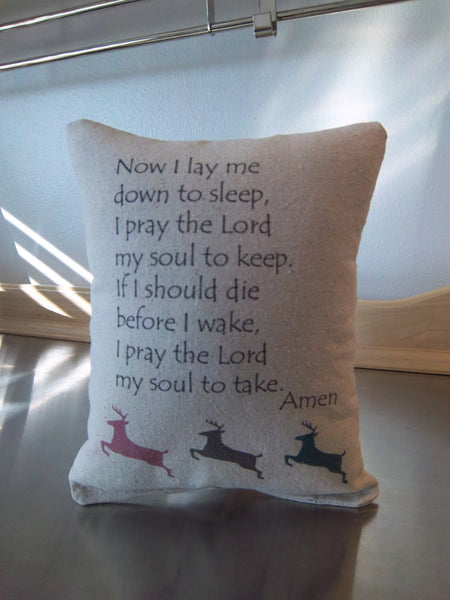kids prayer pillow