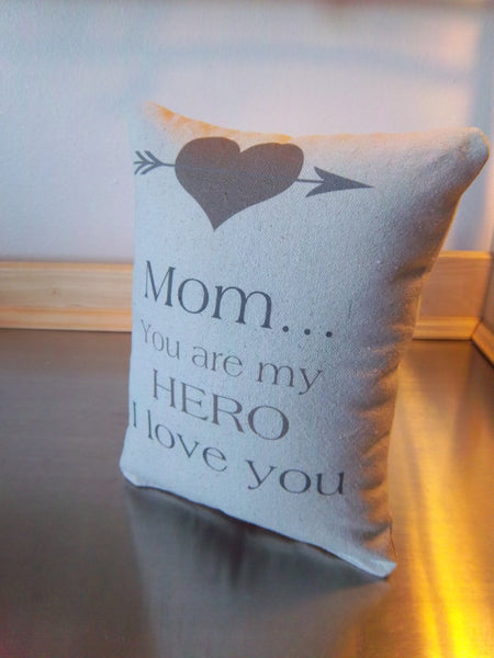 Birthday gift for mom pillow Mother just because gift throw pillows