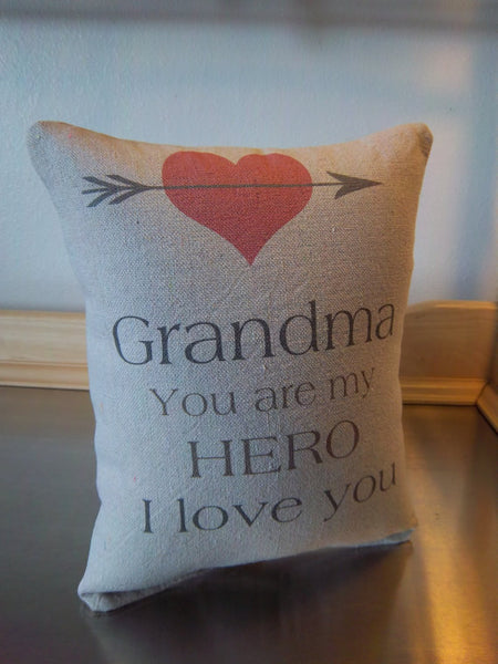 Best gift for Grandma throw pillow grandmother gift pillow