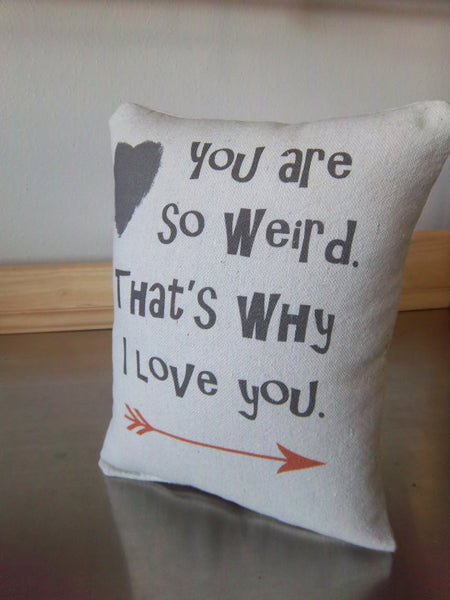 weird gift ideas pillow