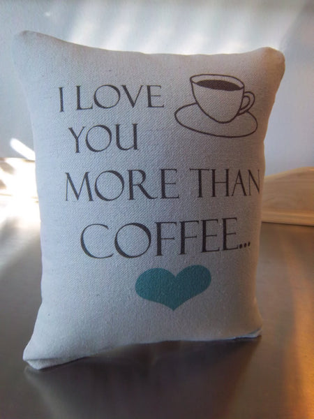 Birthday gift for her pillow cotton throw cushion coffee decor