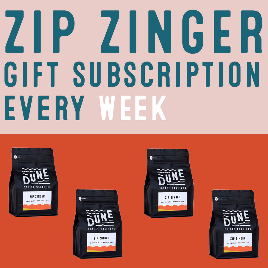 Zip Zinger Gift Subscription (One Bag Every Week)