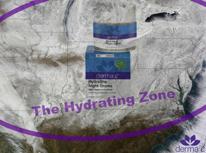 "The Midwest section of the United States is the current ""Hydration Zone"""