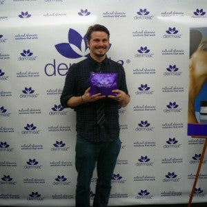 Jason Ritter scores some derma e® of his very own