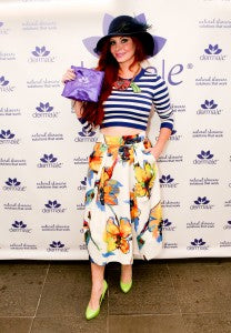 Phoebe price makes a colorful statement with her derma e® goody bag