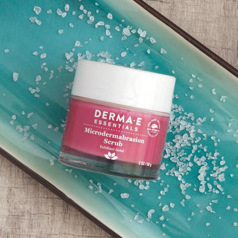 Microdermabrasion Scrub can help for oily skin and dry skin