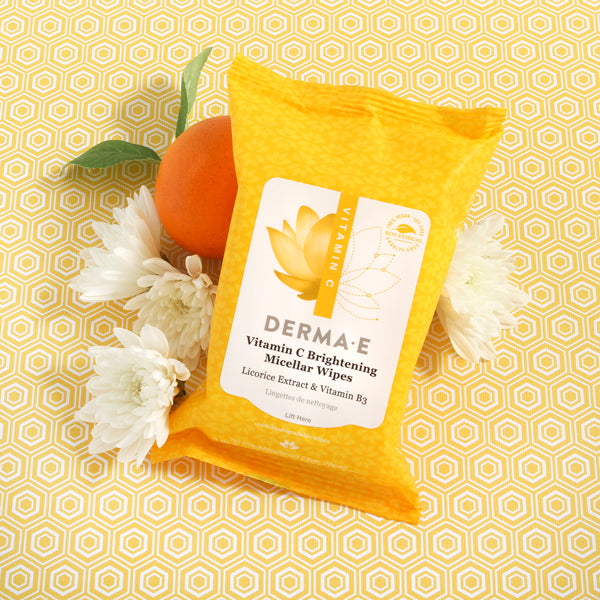 Vitamin C Brightening Glow Micellar Wipes Pouch