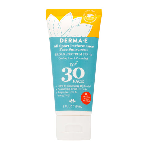 Water Resistant Sport Face Sunscreen SPF 30