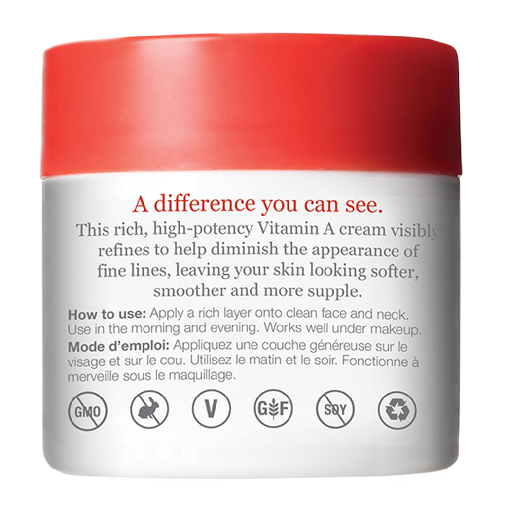 Anti-Wrinkle Renewal Cream Jar Back Panel