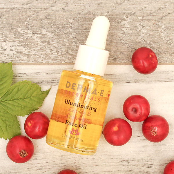 Illuminating Rosehip & Cranberry Face Oil Bottle