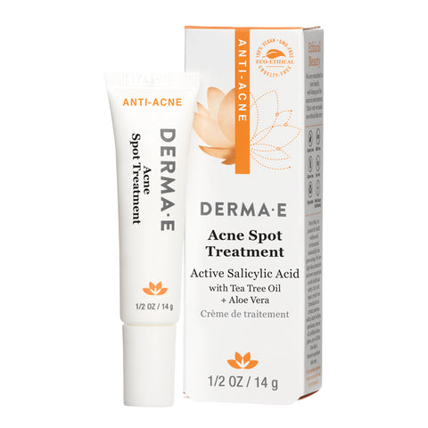 Acne Spot Treatment Tube and Carton