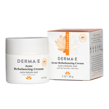 Acne Rebalancing Cream Jar and Box