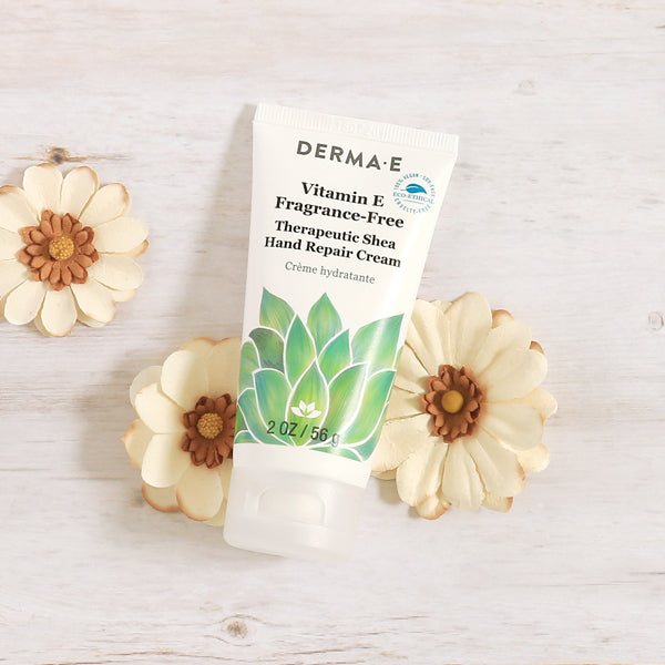 Vitamin E Fragrance-Free, Therapeutic Moisture Shea Hand Cream