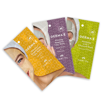 Purifying Mask, Firming Mask, Vitamin C Mask Pouches