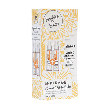 Vitamin C Serum & Moisturizer Duo Set